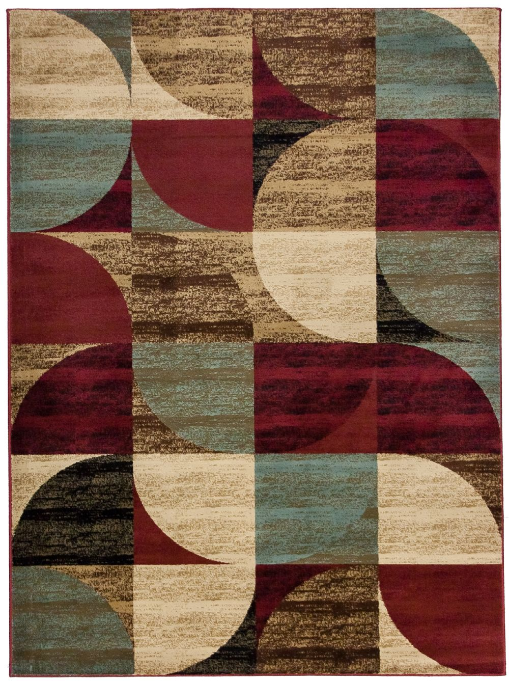 well woven bowery art deco contemporary area rug collection