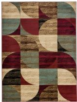 Well Woven Contemporary Barclay Bowery Art Deco Area Rug Collection