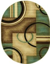 Well Woven Contemporary Barclay Arcs &  Shapes Area Rug Collection
