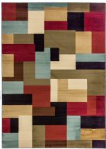 Well Woven Contemporary Barclay River Red Area Rug Collection