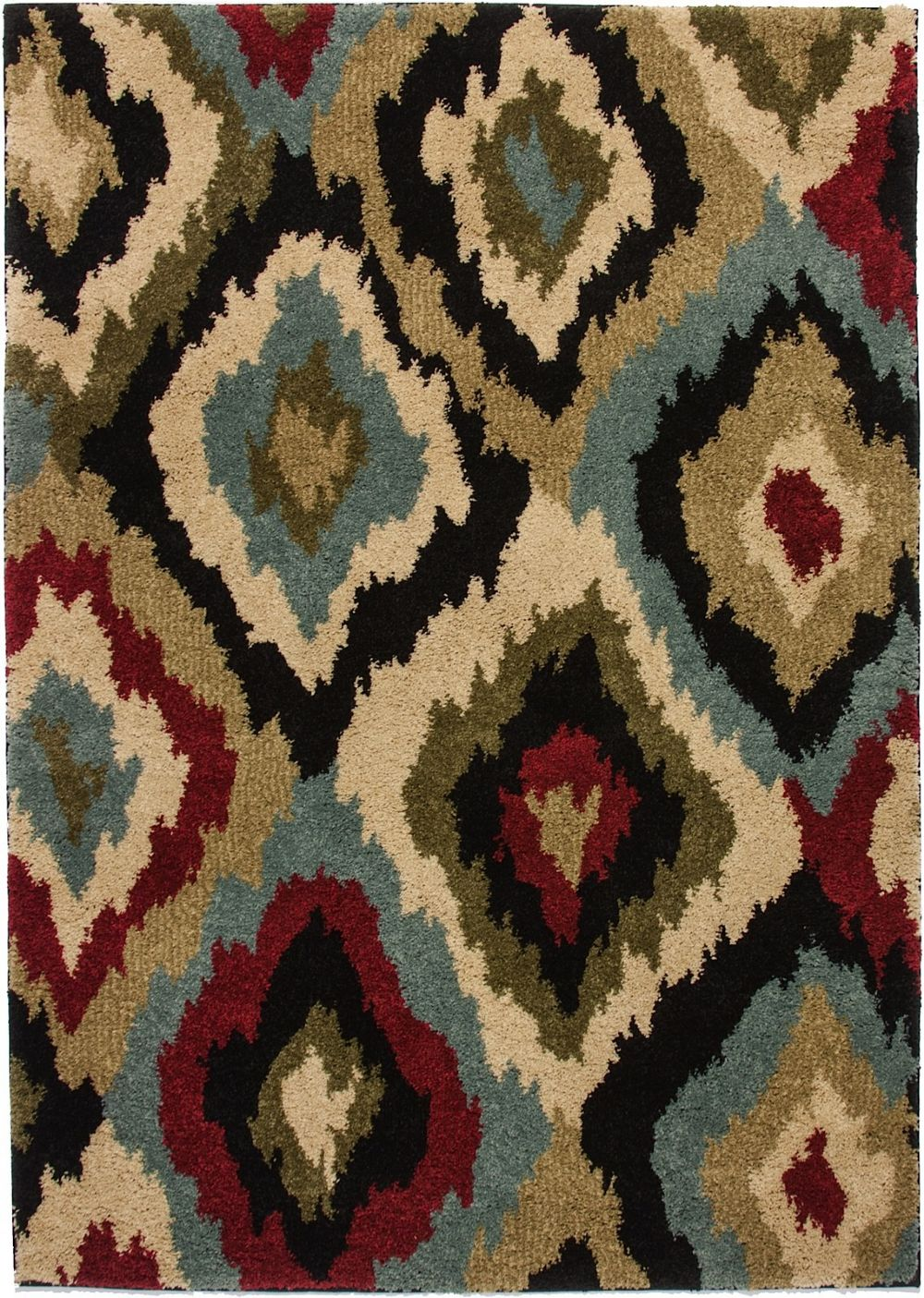 well woven avenue bliss ikat contemporary area rug collection