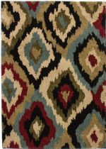 Well Woven Contemporary Avenue Bliss Ikat Area Rug Collection