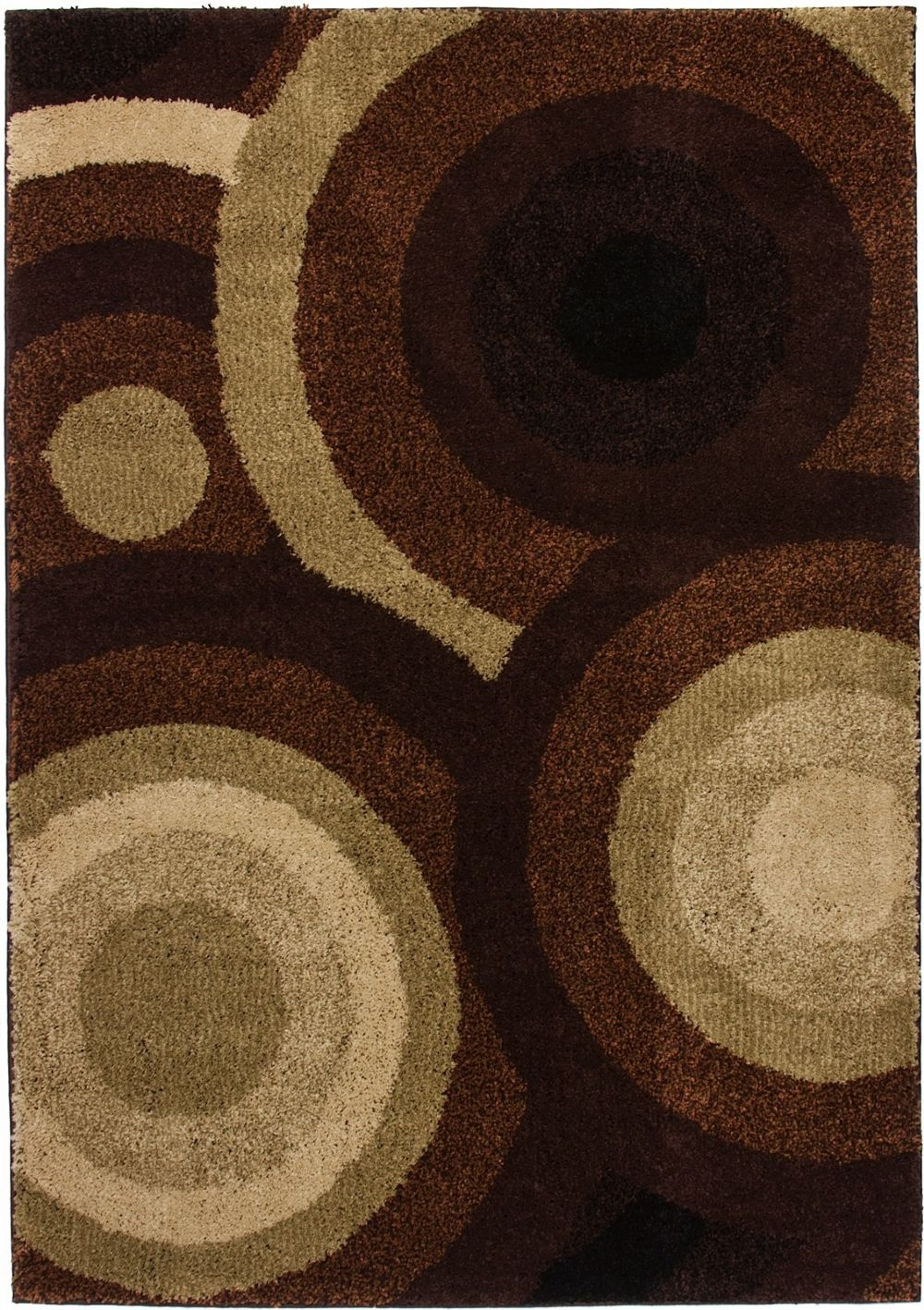 well woven avenue positive circles contemporary area rug collection