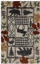 American Rug Craftsmen Transitional Woolrich Area Rug Collection