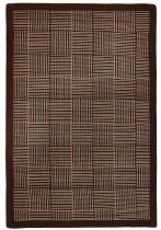 Anji Mountain Bamboo Pizzelle Area Rug Collection