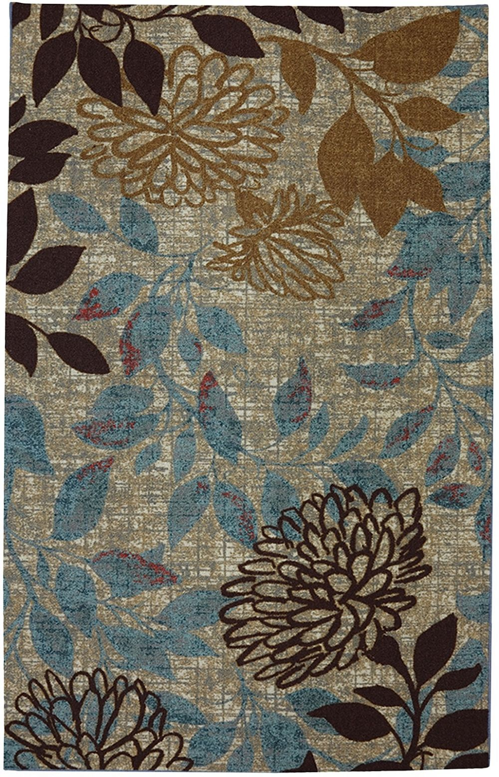 mohawk bella garden contemporary area rug collection
