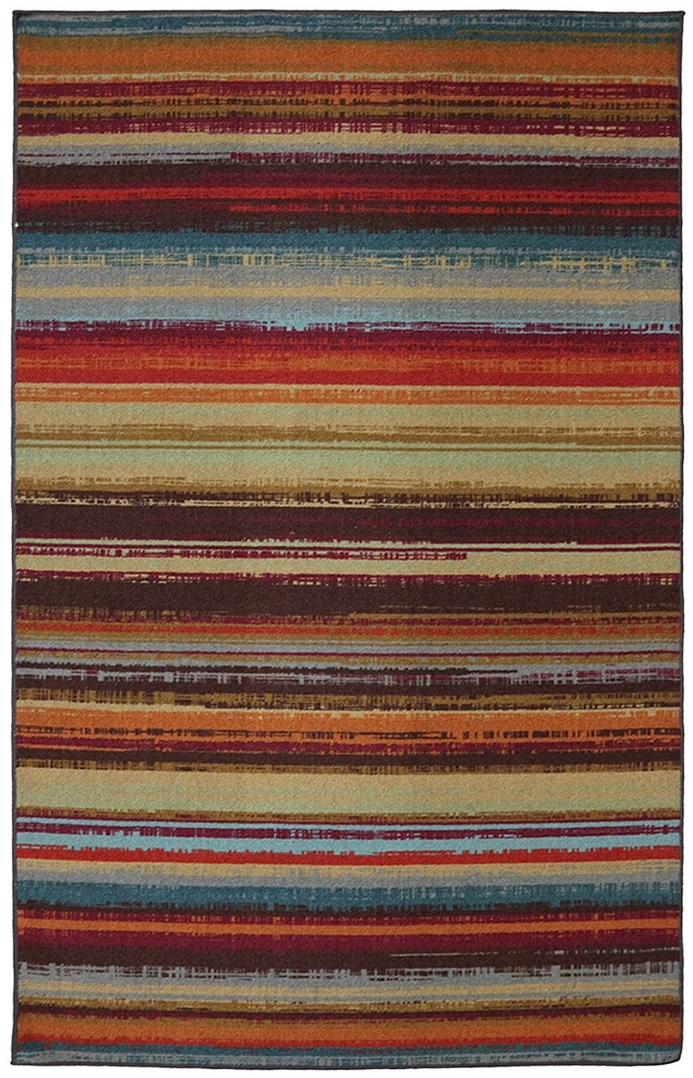mohawk avenue stripe contemporary area rug collection