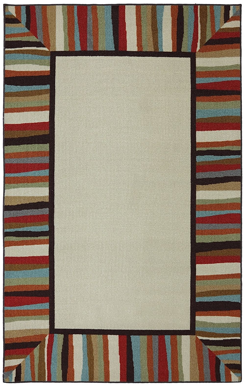 mohawk patio border contemporary area rug collection
