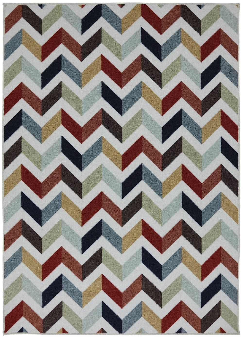 mohawk mixed chevron contemporary area rug collection