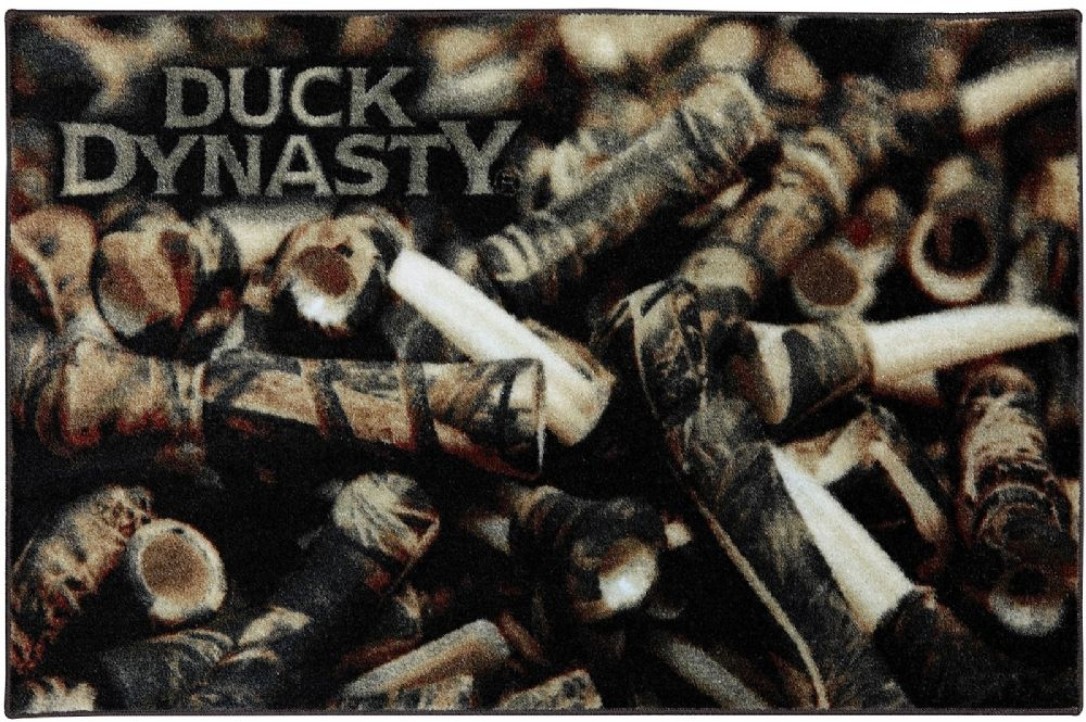 mohawk duck dynasty duck calls novelty area rug collection