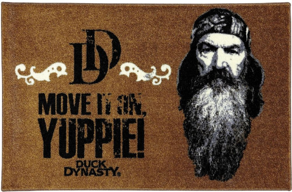 mohawk duck dynasty phil yuppie novelty area rug collection