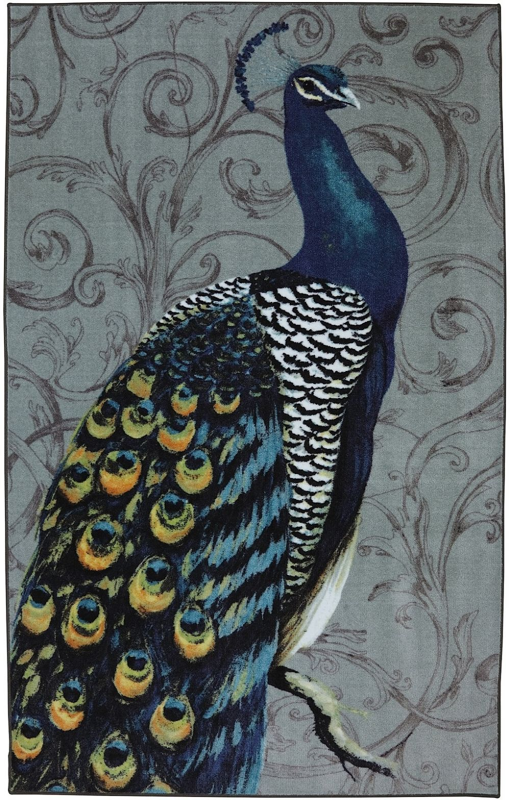 mohawk peacock feathers contemporary area rug collection