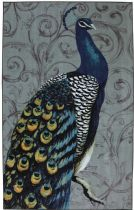 Mohawk Contemporary Peacock Feathers Area Rug Collection