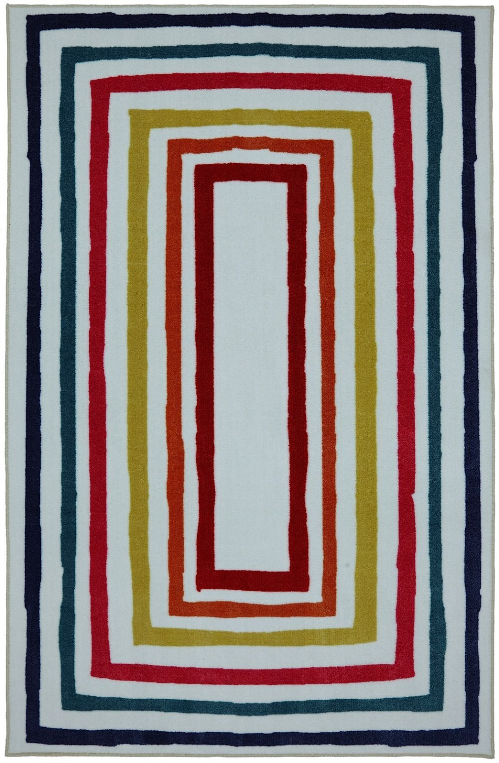 mohawk fun borders contemporary area rug collection