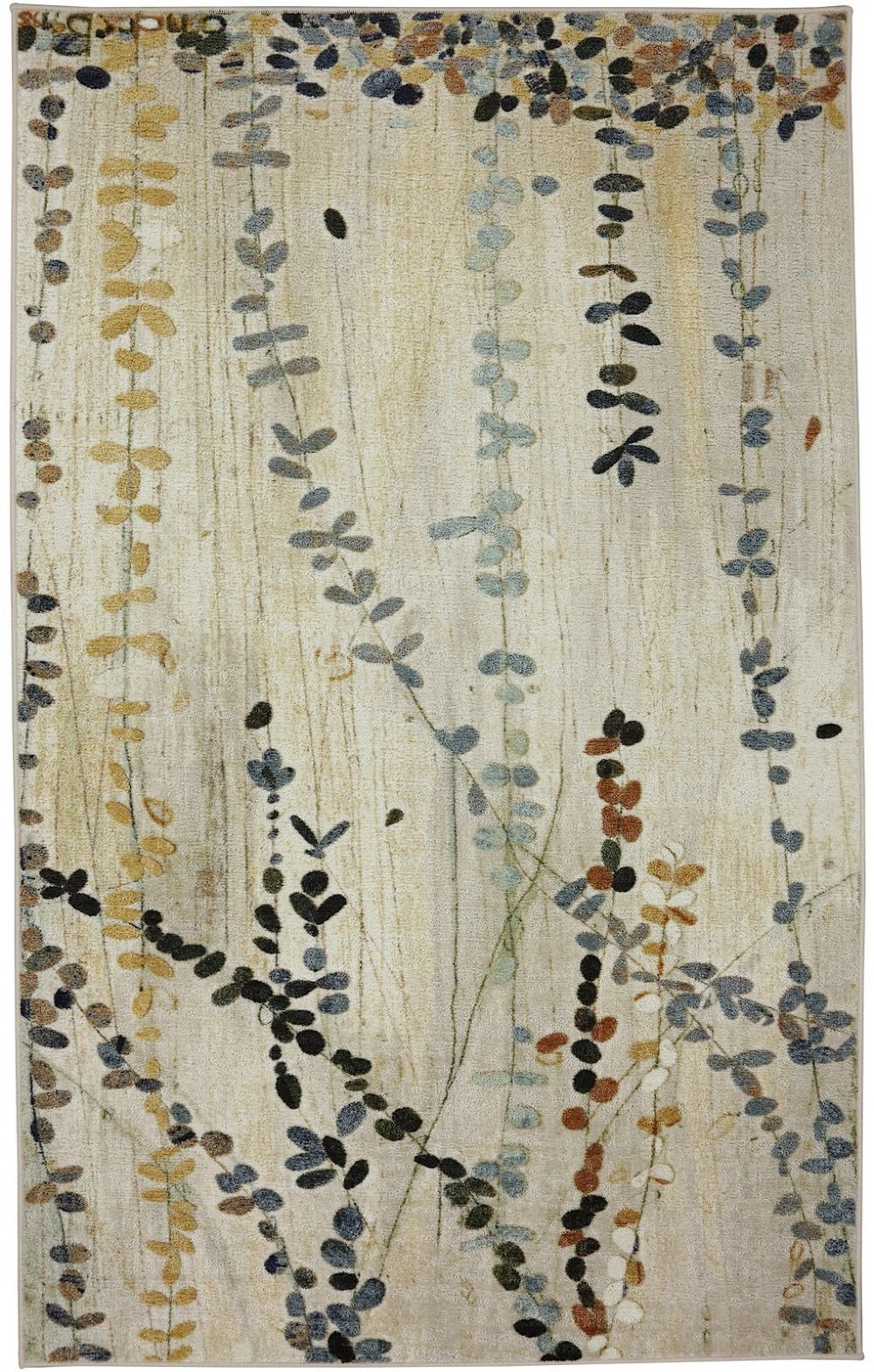 mohawk trailing vines contemporary area rug collection