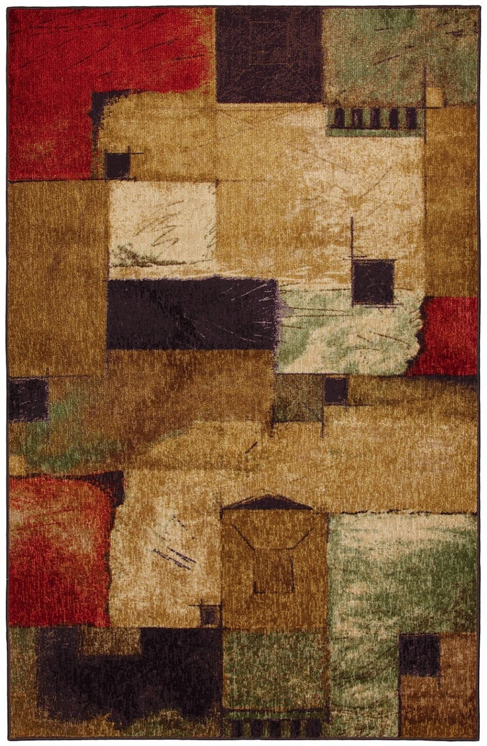 mohawk libretto contemporary area rug collection