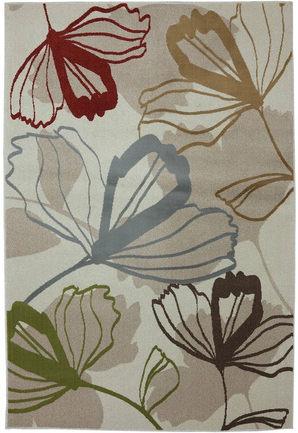 Mohawk Big Bloom Transitional Area Rug Collection Rugpal