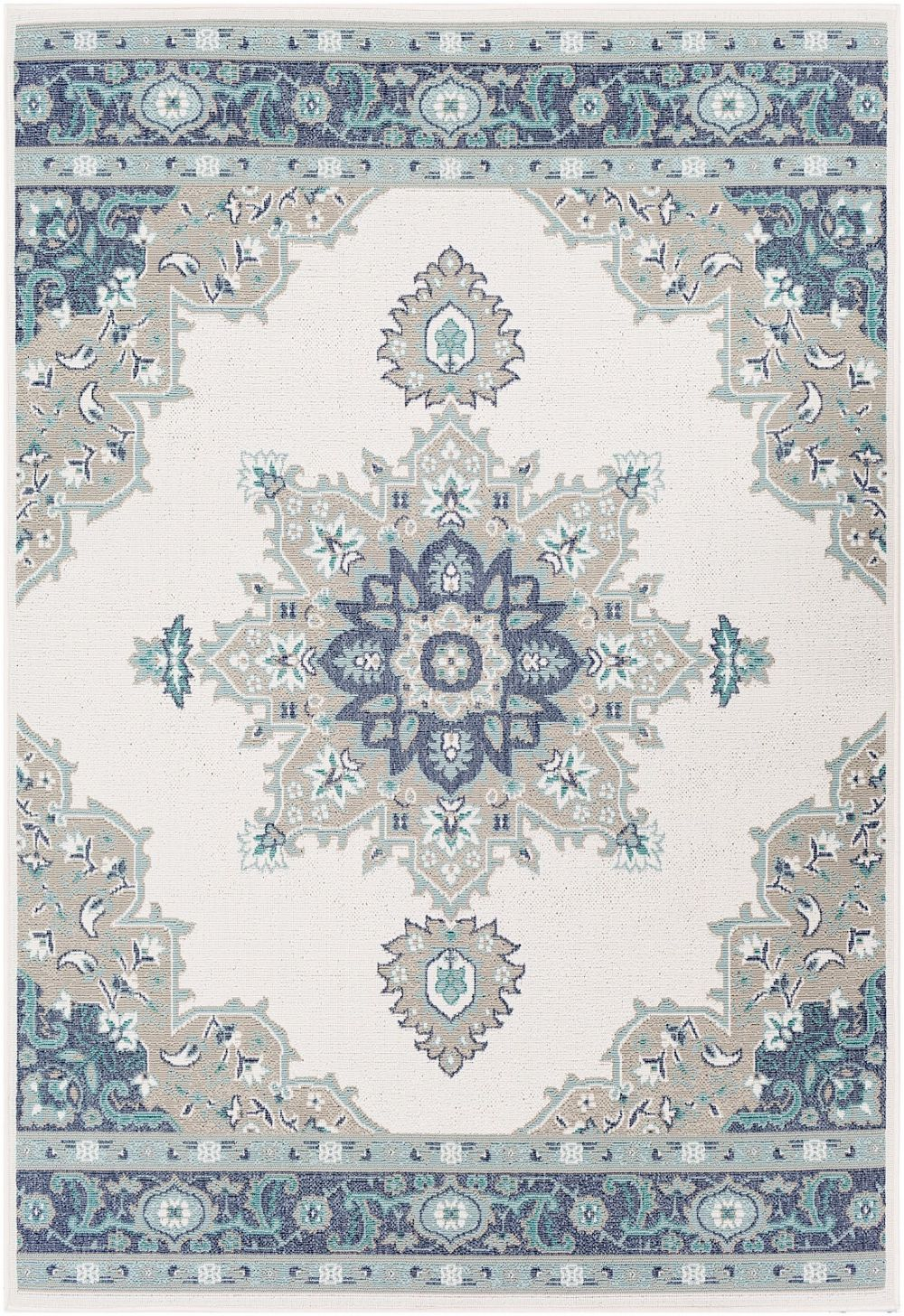 surya alfresco indoor/outdoor area rug collection
