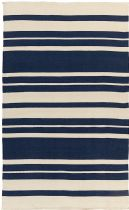 Surya Solid/Striped Picnic Area Rug Collection