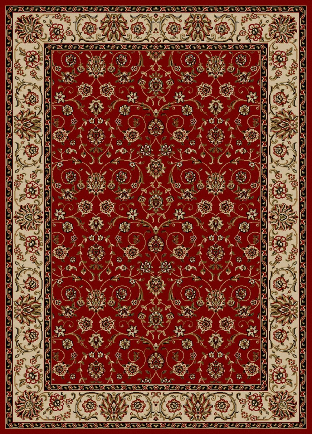 radici usa como traditional area rug collection