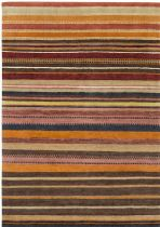 Surya Solid/Striped Kyah Area Rug Collection
