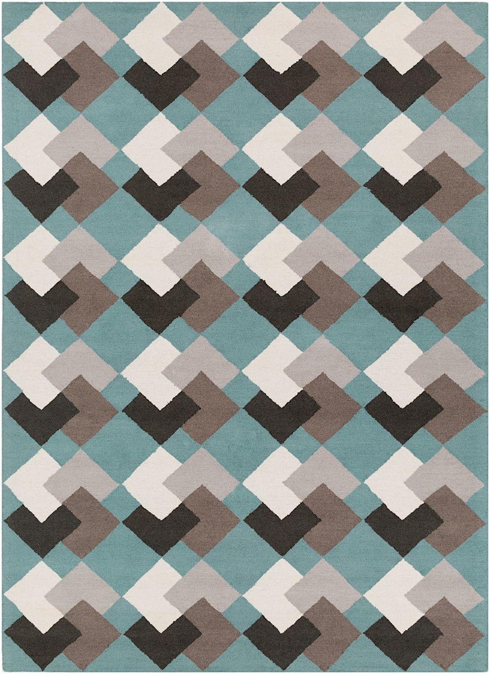 surya hilda contemporary area rug collection