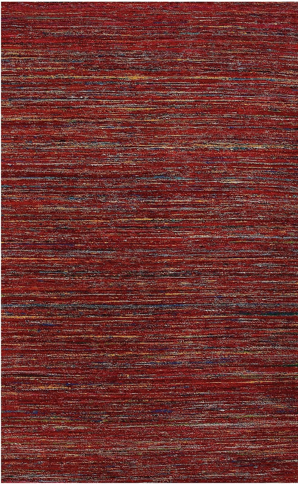 amer banaras solid/striped area rug collection