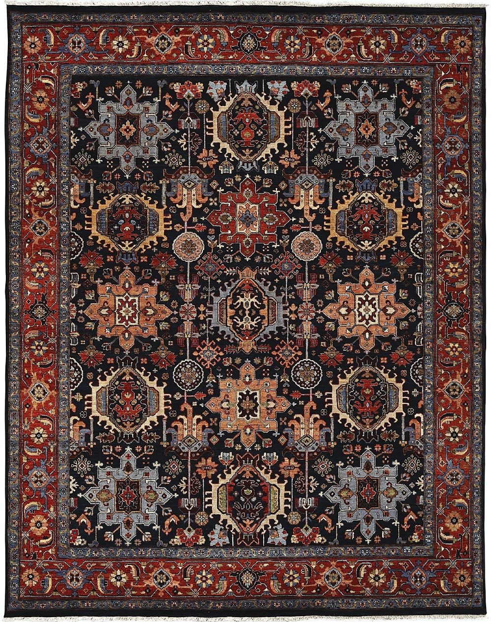 amer antiquity southwestern/lodge area rug collection