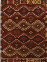 Rectangle rug, Hand Woven rug, Southwestern/Lodge, Makamani, Amer rug