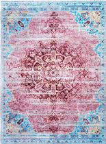 NuLoom Traditional Vintage Medallion Telman Area Rug Collection