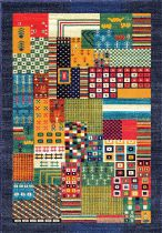 NuLoom Southwestern/Lodge Weldon Tribal Patchwork Area Rug Collection
