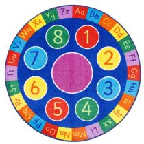 NuLoom Kids Number Circles Area Rug Collection