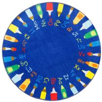 NuLoom Kids Rainbow Alphabet Area Rug Collection