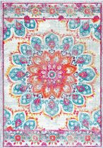 NuLoom Country & Floral Vintage Floral Kiyoko Area Rug Collection