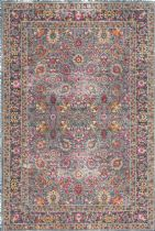 NuLoom Country & Floral Vintage Persian Floral Isela Area Rug Collection