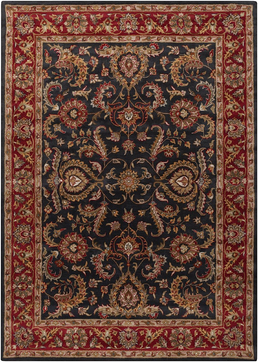 surya middleton traditional area rug collection