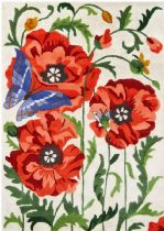 Chandra Country & Floral Bajrang Area Rug Collection