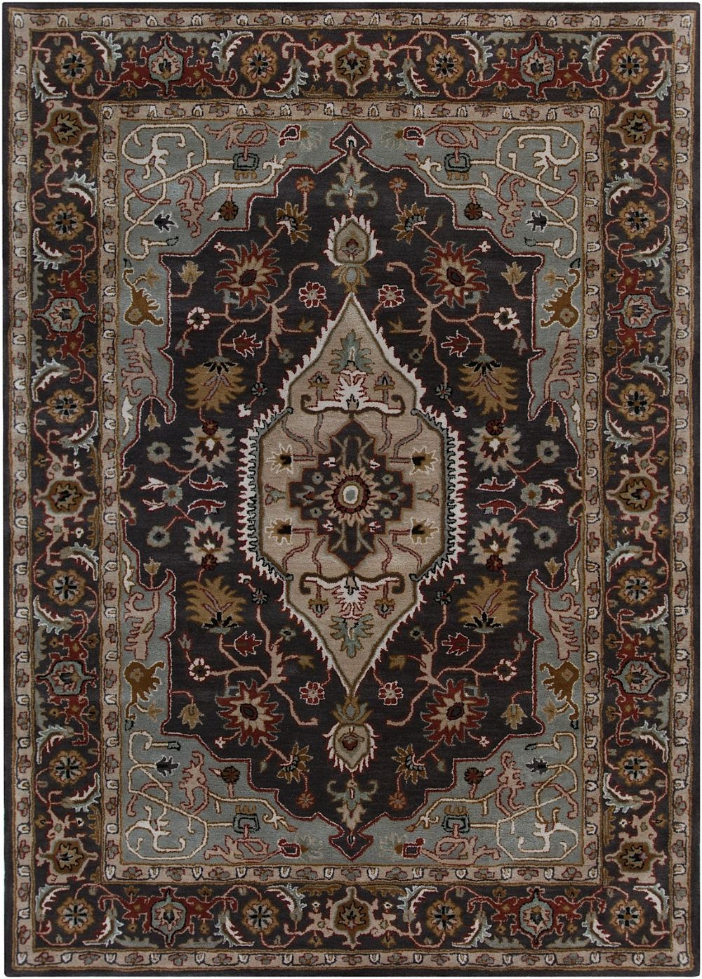 chandra bajrang southwestern/lodge area rug collection