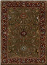 Rectangle rug, Hand Tufted rug, Southwestern/Lodge, Bajrang, Chandra rug