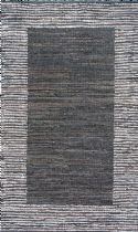 NuLoom Solid/Striped Solid Striped Border Neta Area Rug Collection