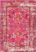 NuLoom Country & Floral Distressed Floral Anabel Area Rug Collection