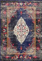 NuLoom Traditional Vintage Medallion Veronica Area Rug Collection
