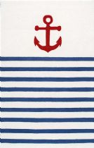 NuLoom Solid/Striped Thomas Paul Anchor Stripes Area Rug Collection