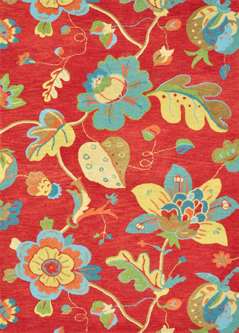loloi aris country & floral area rug collection