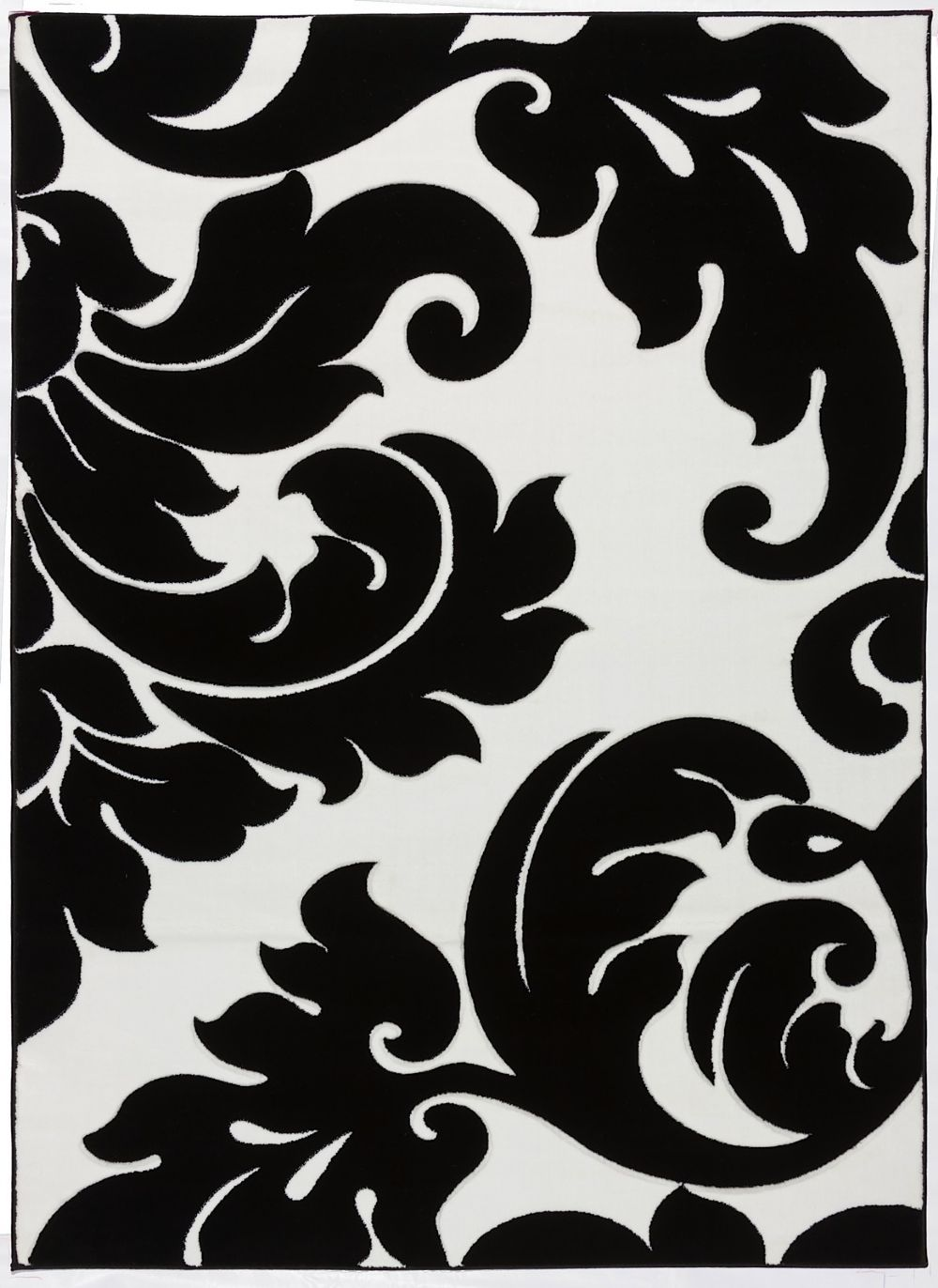 well woven melody vines damask contemporary area rug collection