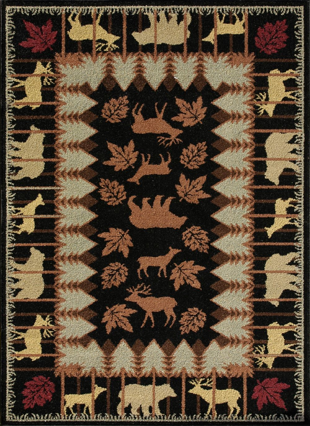 loloi northwood southwestern/lodge area rug collection