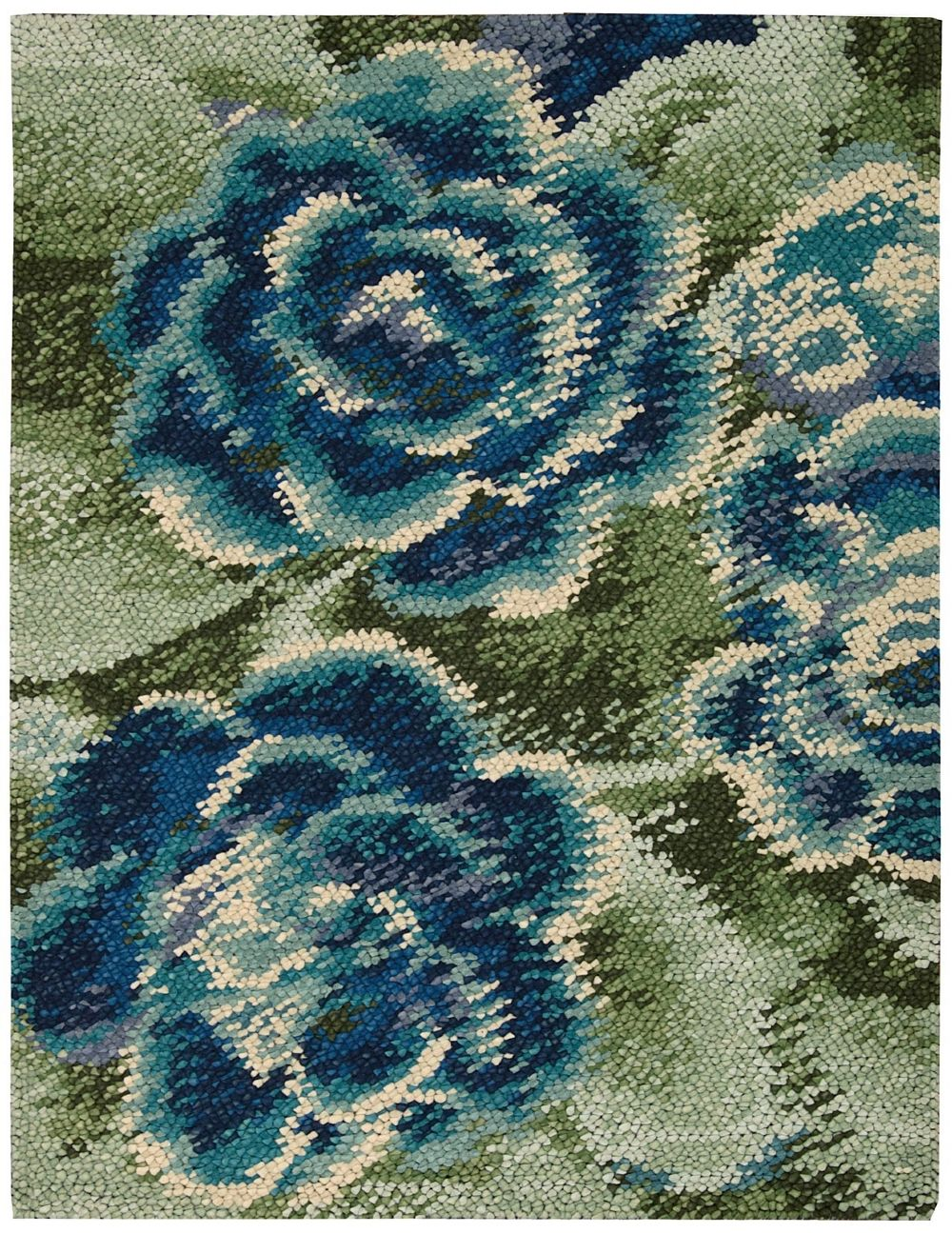 nourison impressionist contemporary area rug collection