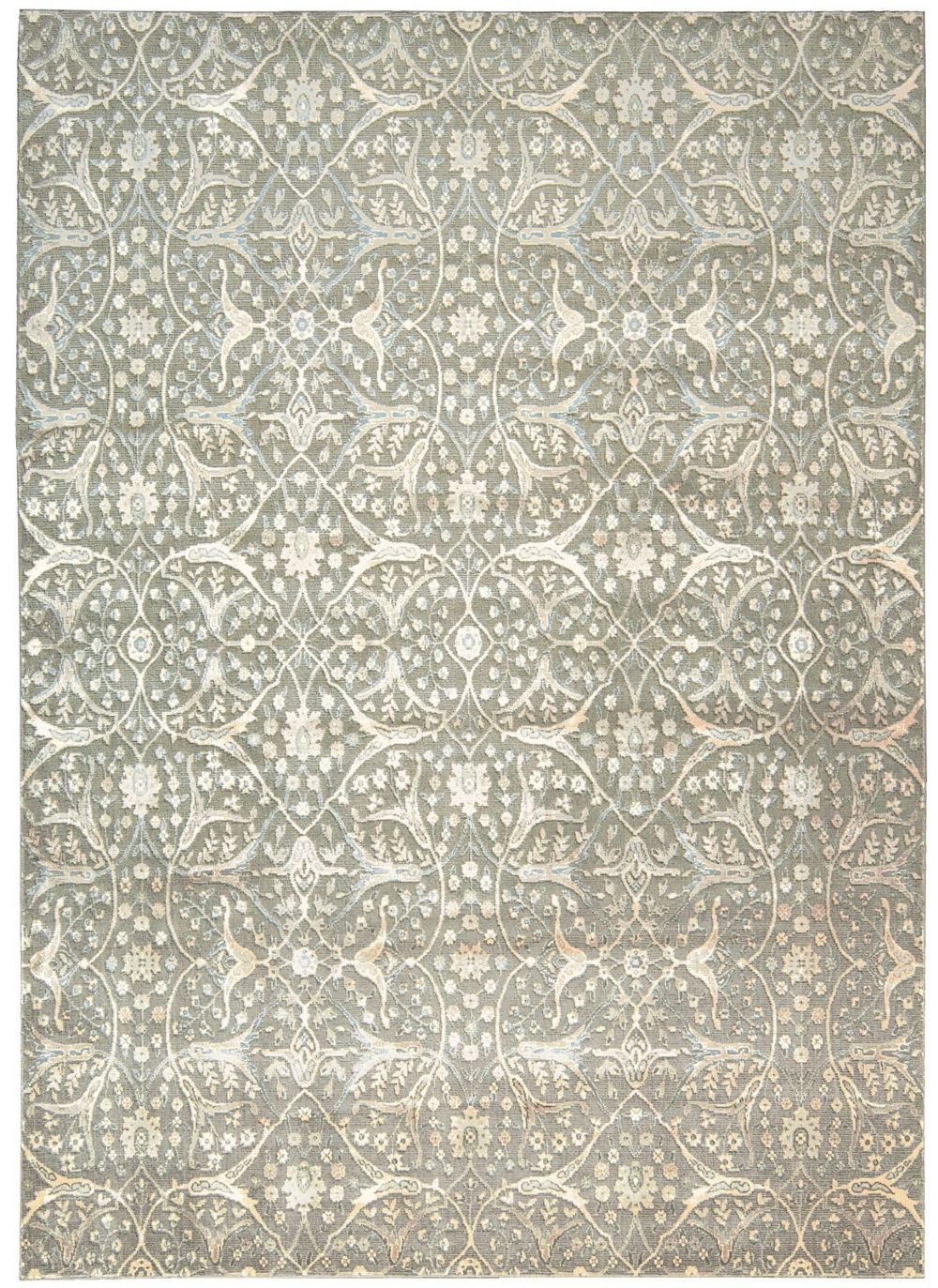 nourison luminance transitional area rug collection