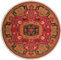Round rug, Hand Made rug, Southewestern/Lodge, Nourmak, Nourison rug