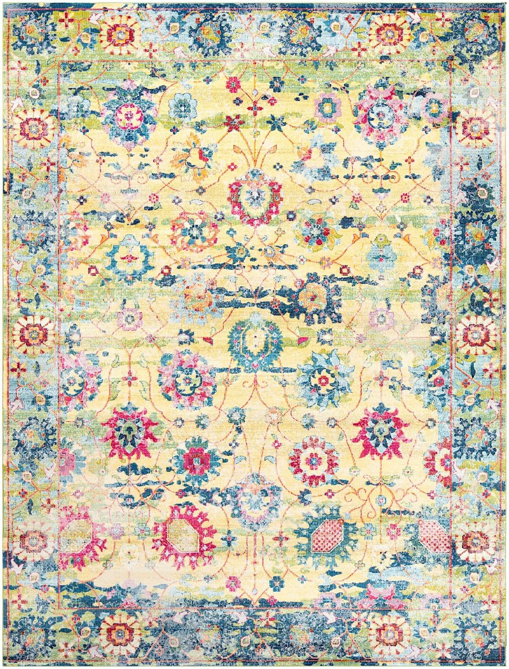 surya aura silk traditional area rug collection